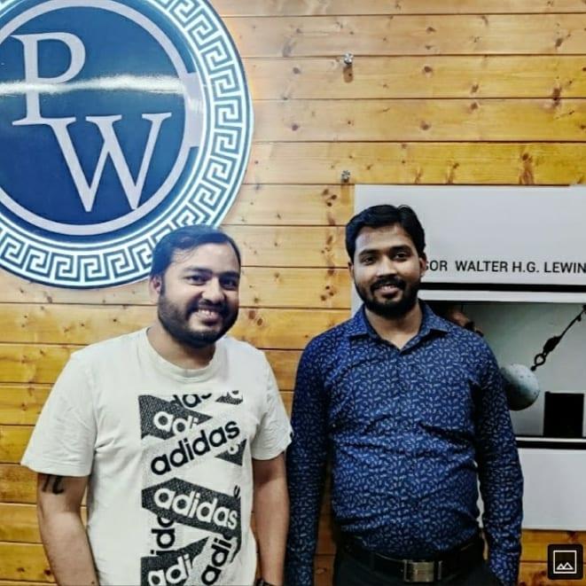 Khan Sir with Physics Wallah a.k.a Alakh Pandey