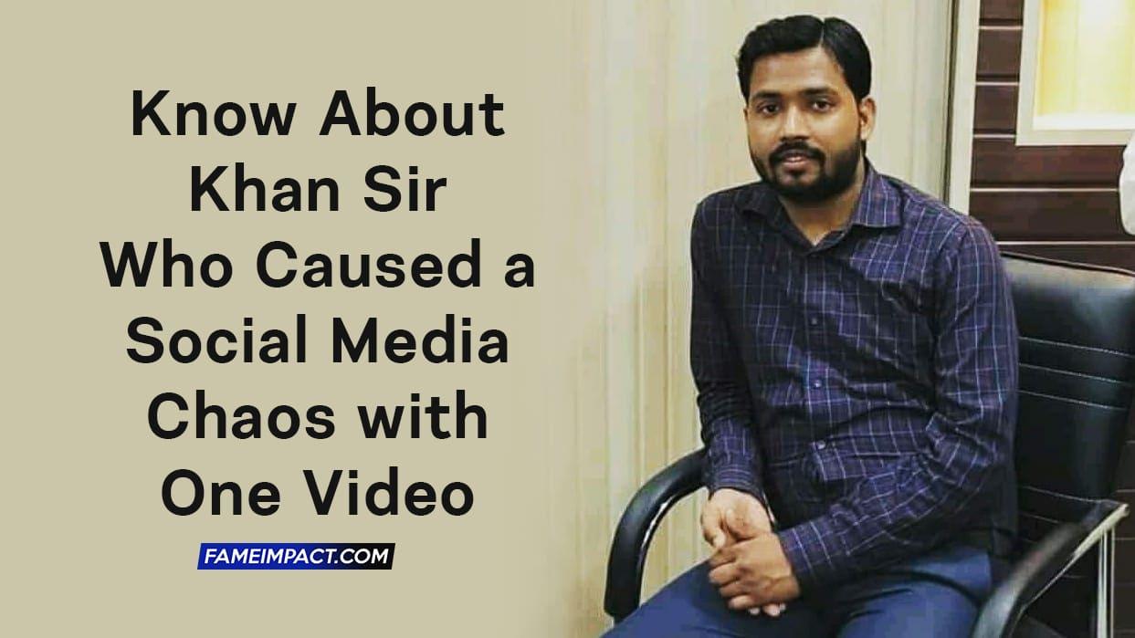 Meet Khan Sir - Childhood, Education, Personal Life & More 1