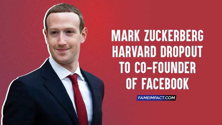 Mark Zuckerberg – Harvard Dropout to Co-Founder of Facebook