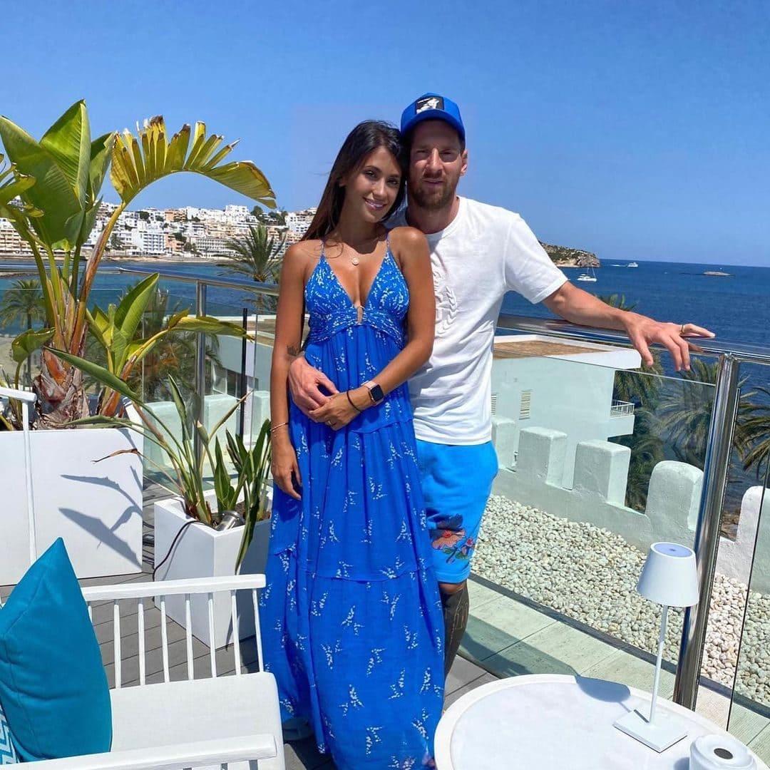 Lionel Messi with his wife Antonella Roccuzzo