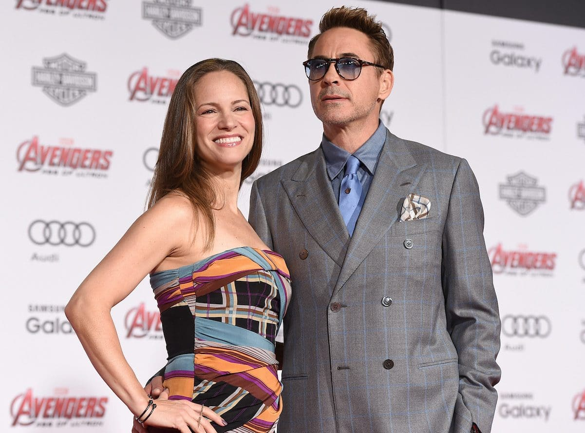 Robert Downey Jr. with his Wife Susan Levin