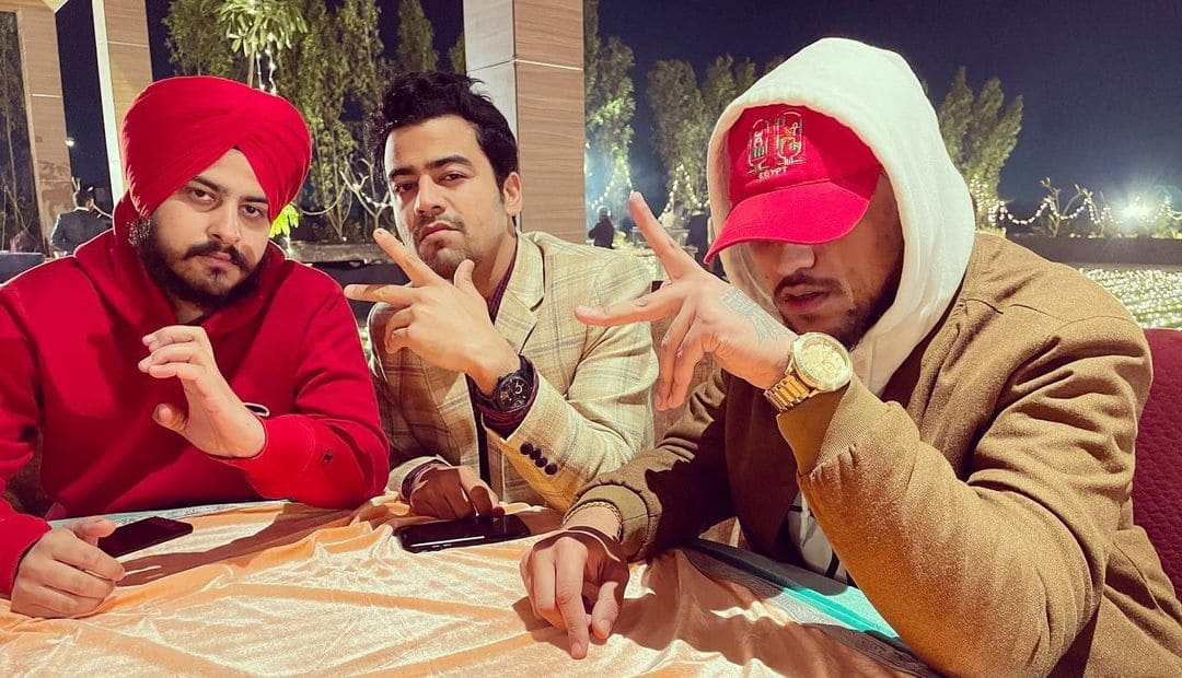 Sikander Kahlon with Rob C and Kaka Sady