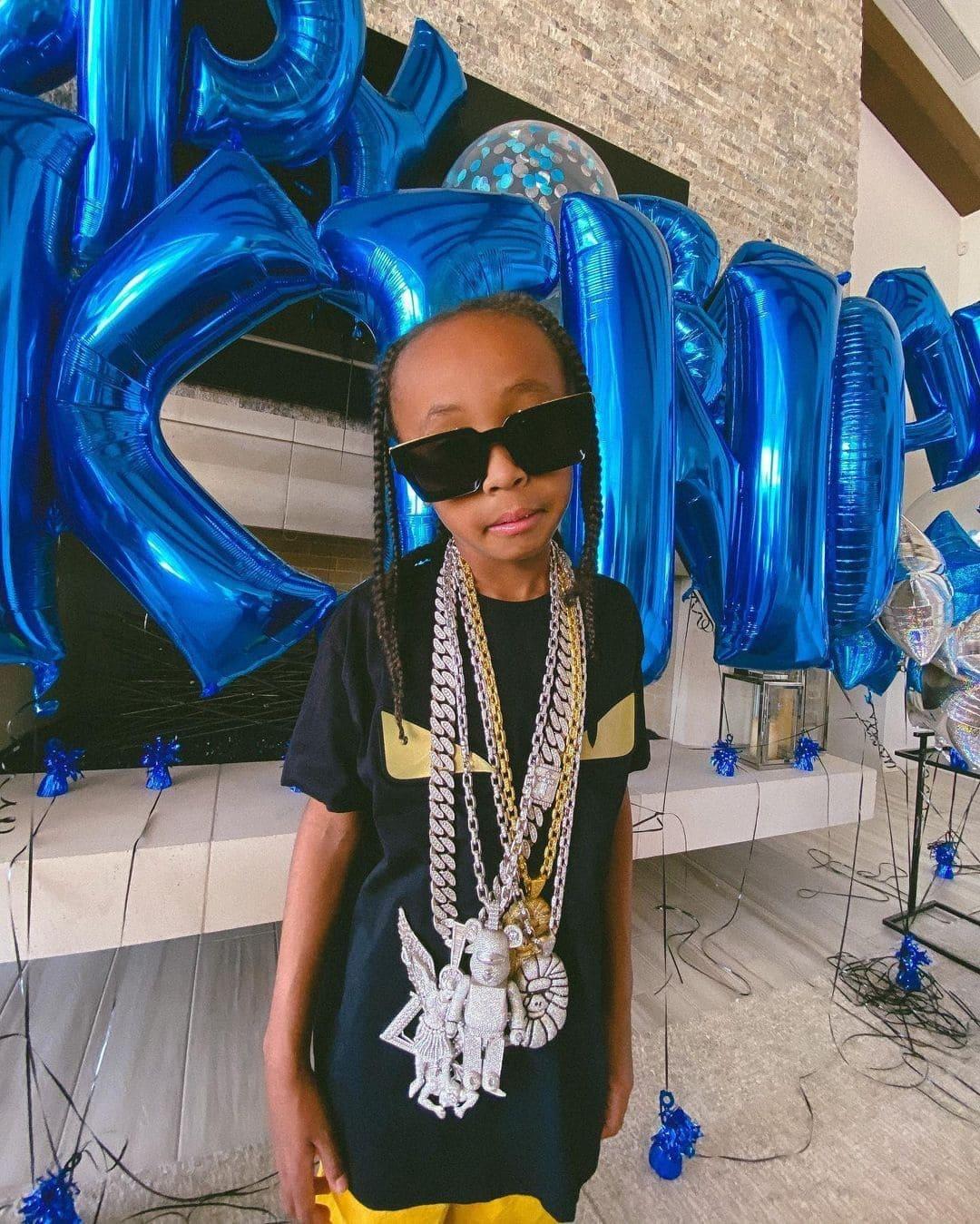Tyga Rapper's Son