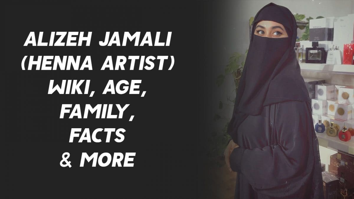 Alizeh Jamali (Henna Artist) Wiki, Age, Family, Facts & More 1