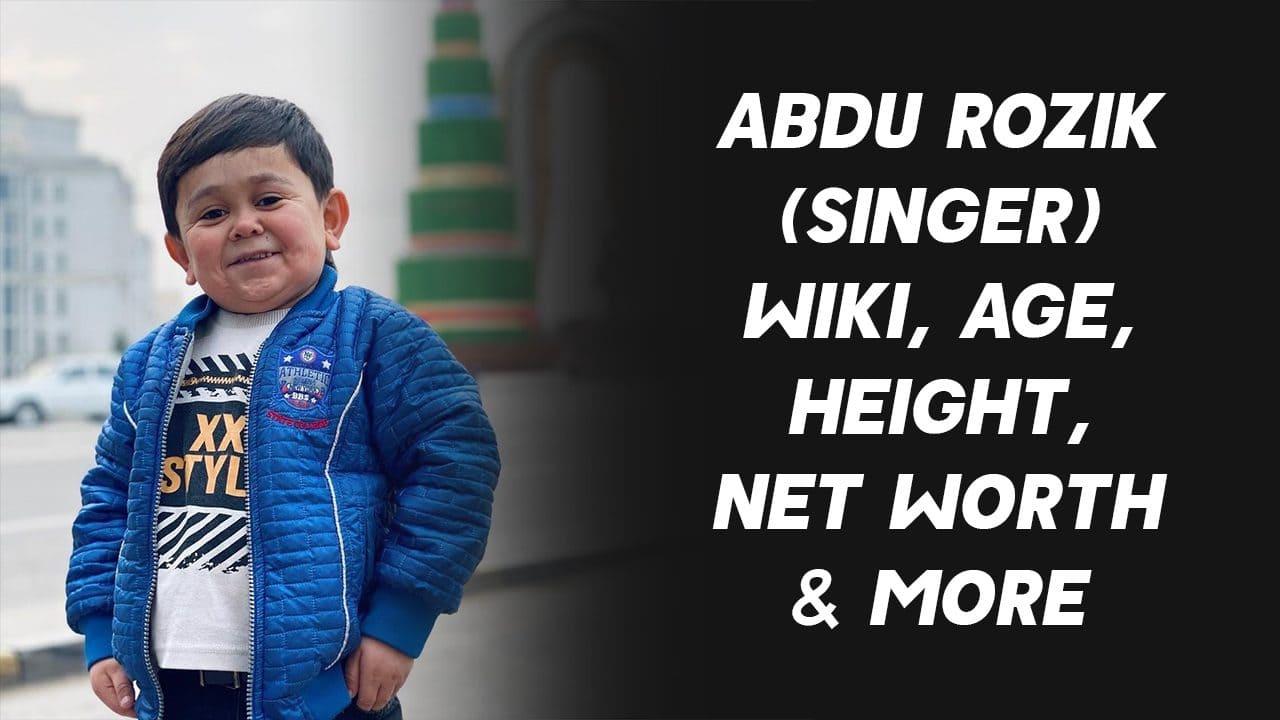 Abdu Rozik (Singer) Wiki, Age, Height, Net Worth & More 1