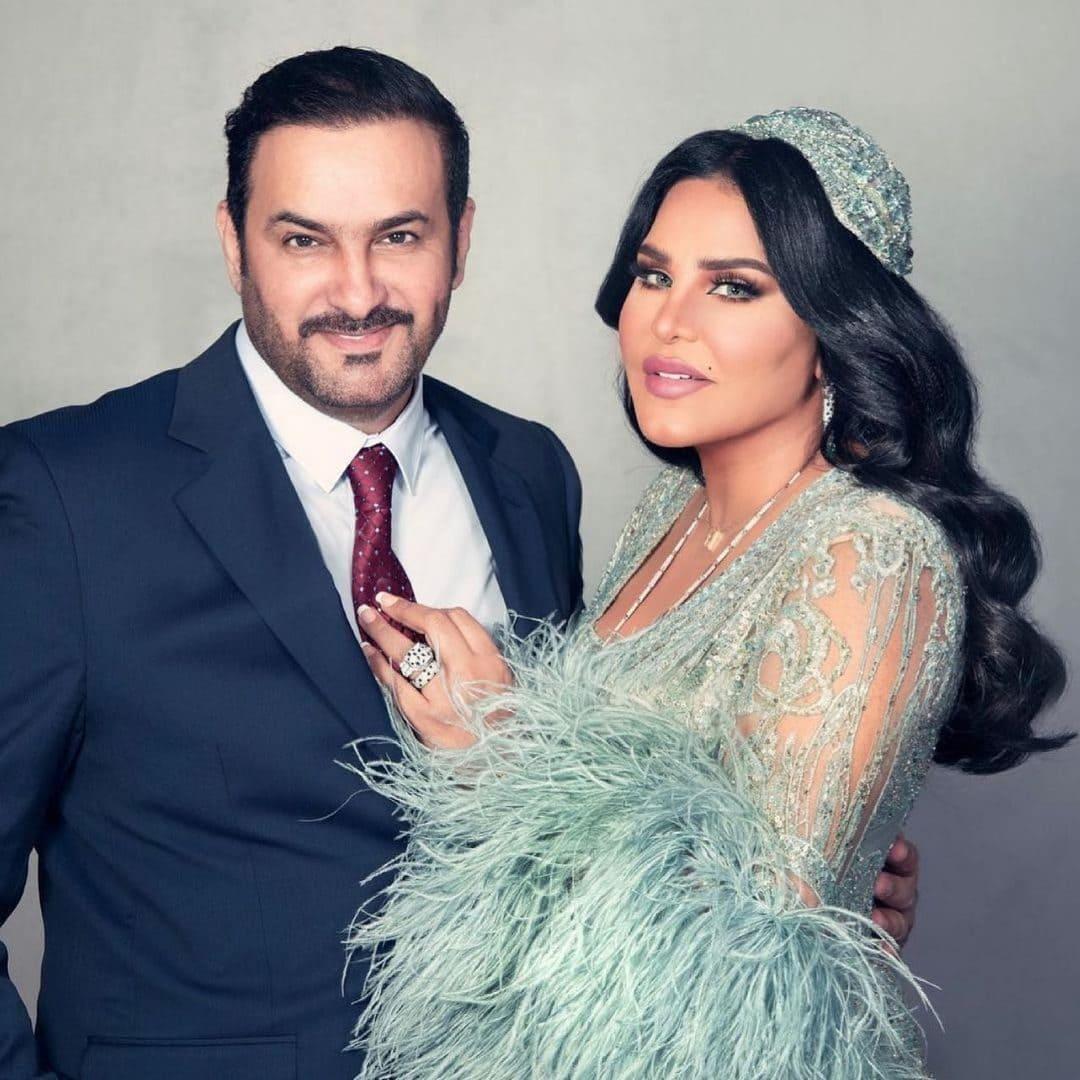 Ahlam Al Shamsi with her husband Mubarak Al-Hajiri