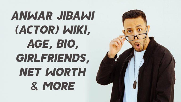 Anwar Jibawi (Actor) Wiki, Age, Girlfriends, Net Worth & More