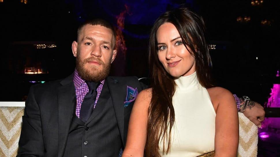 Conor McGregor with his Wife Dee Devlin