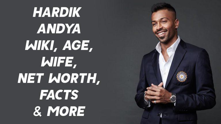 Hardik Pandya Wiki, Age, Wife, Net Worth, Facts & More