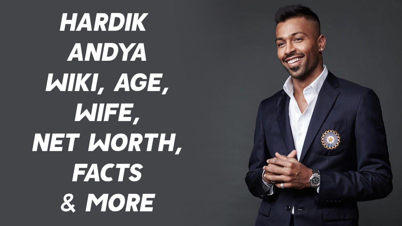 Hardik Pandya Wiki, Age, Wife, Net Worth, Facts & More 1