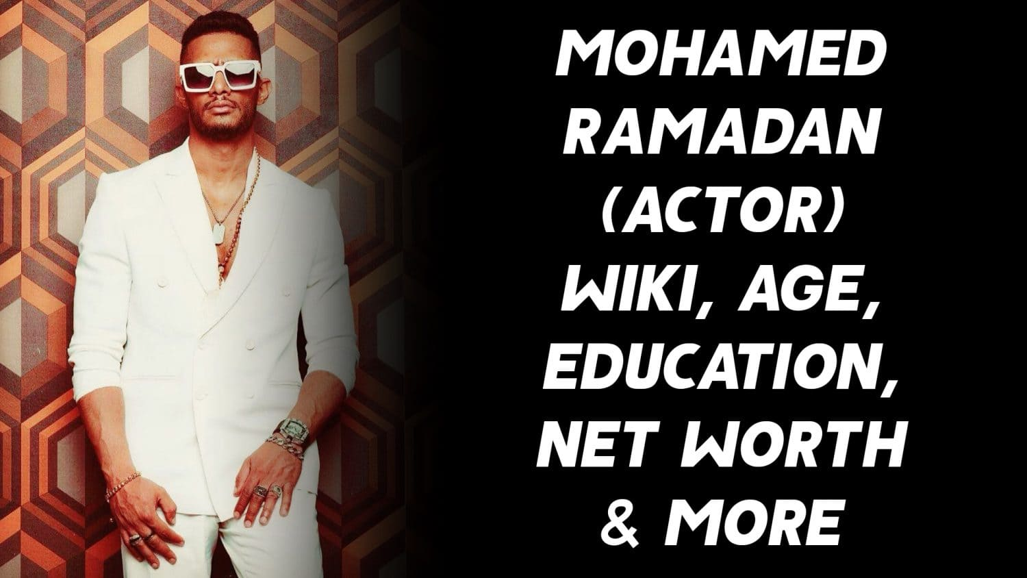 Mohamed Ramadan (Actor) Wiki, Age, Education, Net Worth & More 1