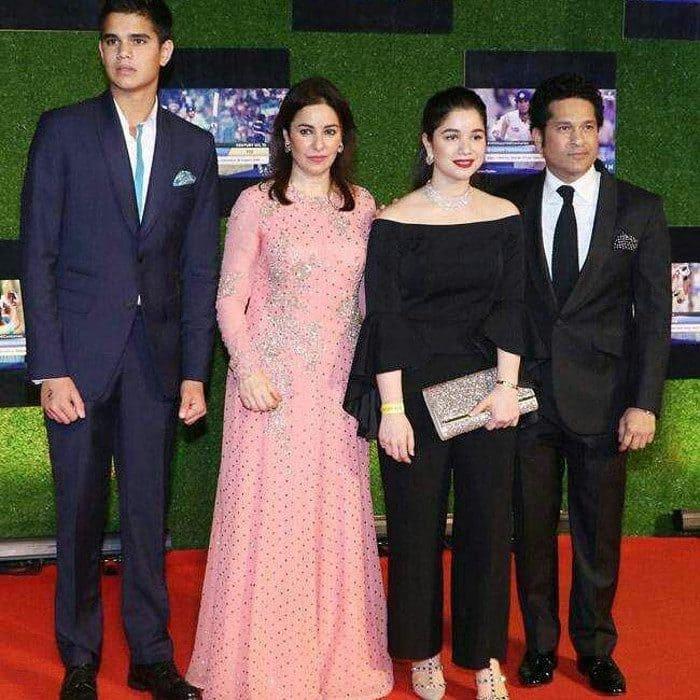 Sachin Family Photo