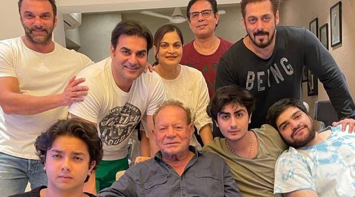 Salman Khan with his Family