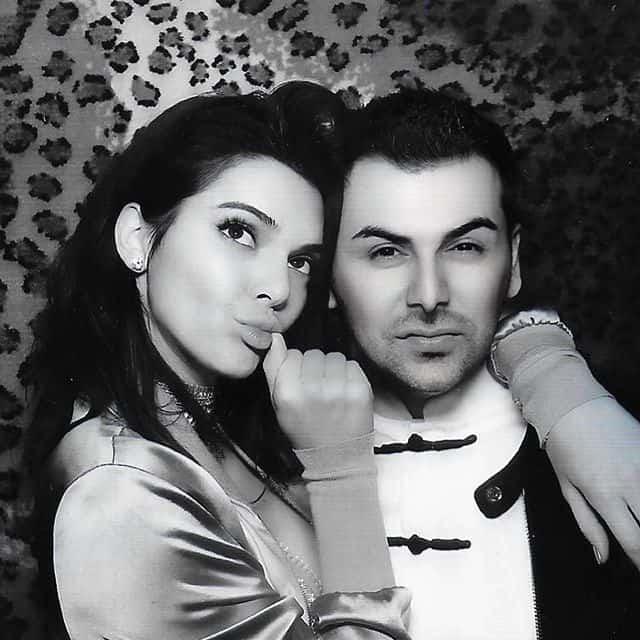 Saygin Yalcin With His Wife