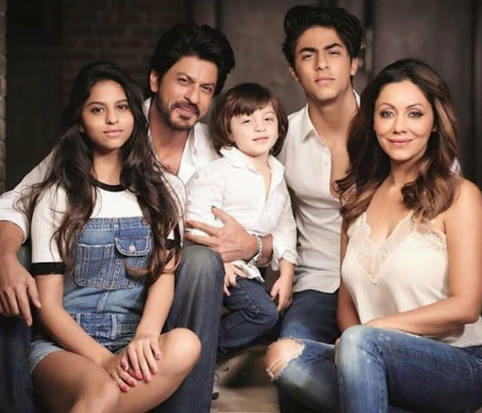 Shahrukh Khan with his Family