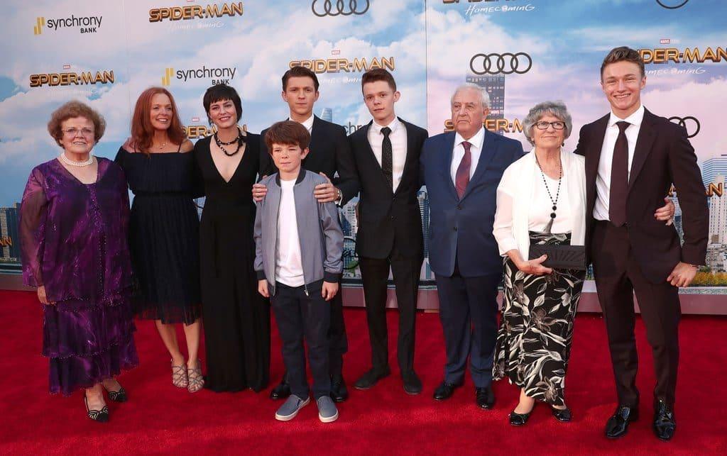 Tom Holland Family