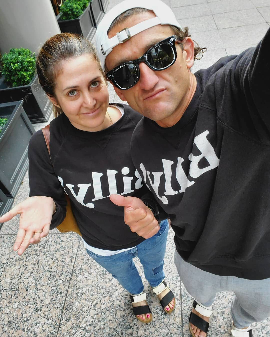 Casey Neistat with his Wife Candice Pool