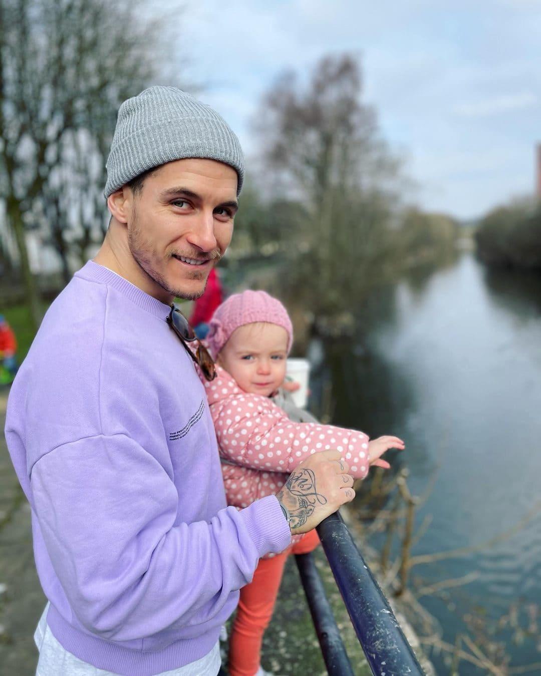 Gemma Atkinson's Husband Gorka, along with their child Mia