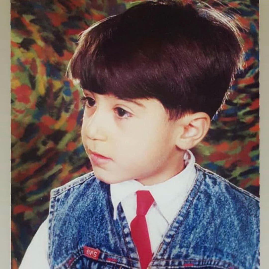 Navid Zardi's Childhood Picture