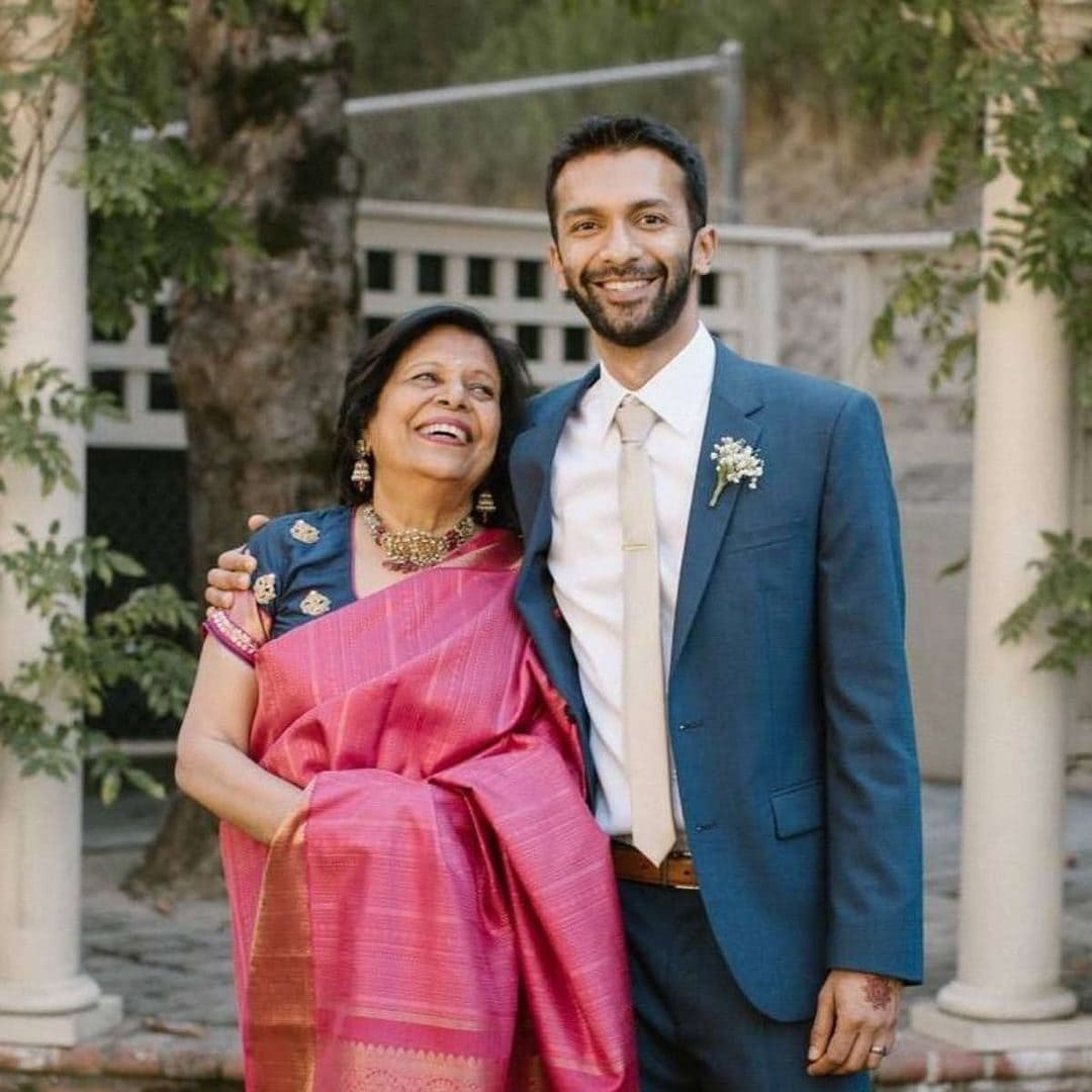 Rohan Seth with his Mother